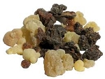 Frankincense and Myrrh resin incense