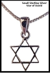 Star of David Cross - Sterling Silver - small
