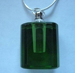 Anointing Oil Pendant - Emerald