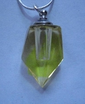 Anointing Oil Pendant - Amber Crystal