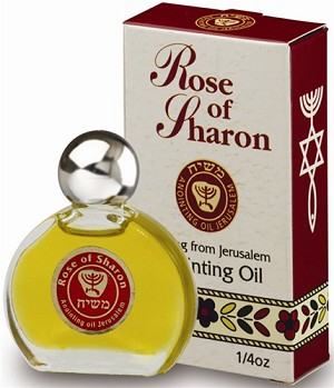 Rose of Sharon Anointing Oil - Jerusalem