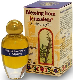 Frankincense & Myrrh Anointing Oil - Jerusalem