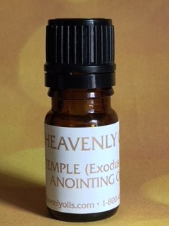 Exodus 30 Temple Anointing Oil